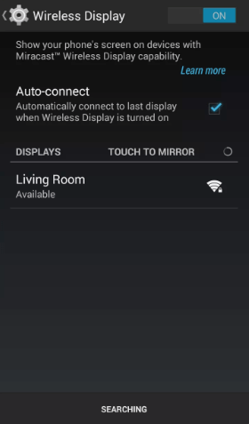 Enable Auto Connect