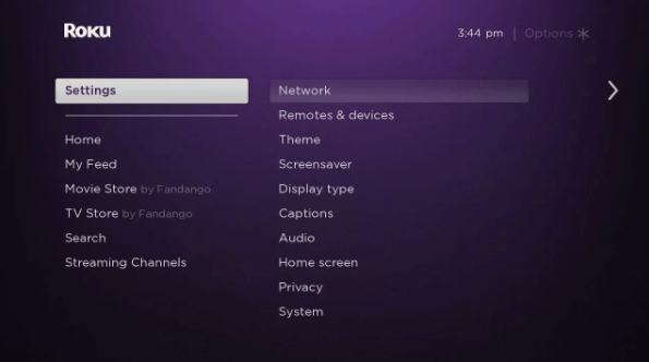 Settings - HOW TO TURN OFF CLOSED CAPTION ON ROKU
