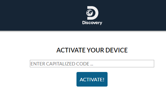 Activate Discovery Go