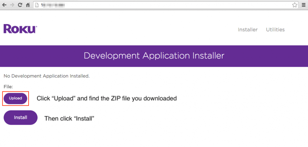 Upload and install the Channel PEAR Zip file