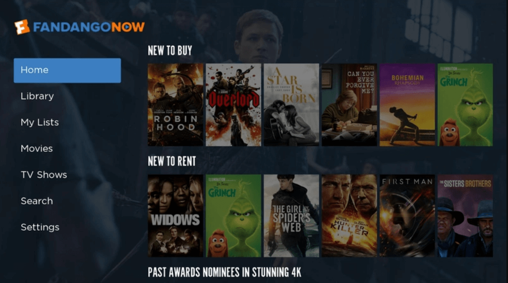 Buy or Rent a Movie