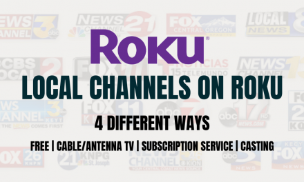How to Stream Local Channels on Roku