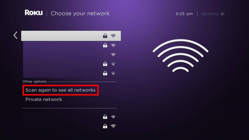 Choose your Network