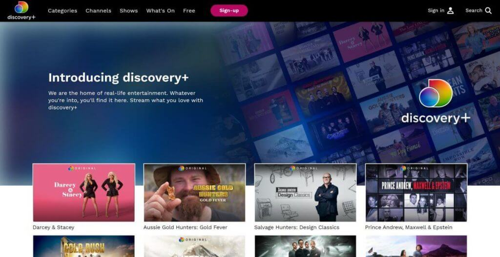 Discovery plus on Roku