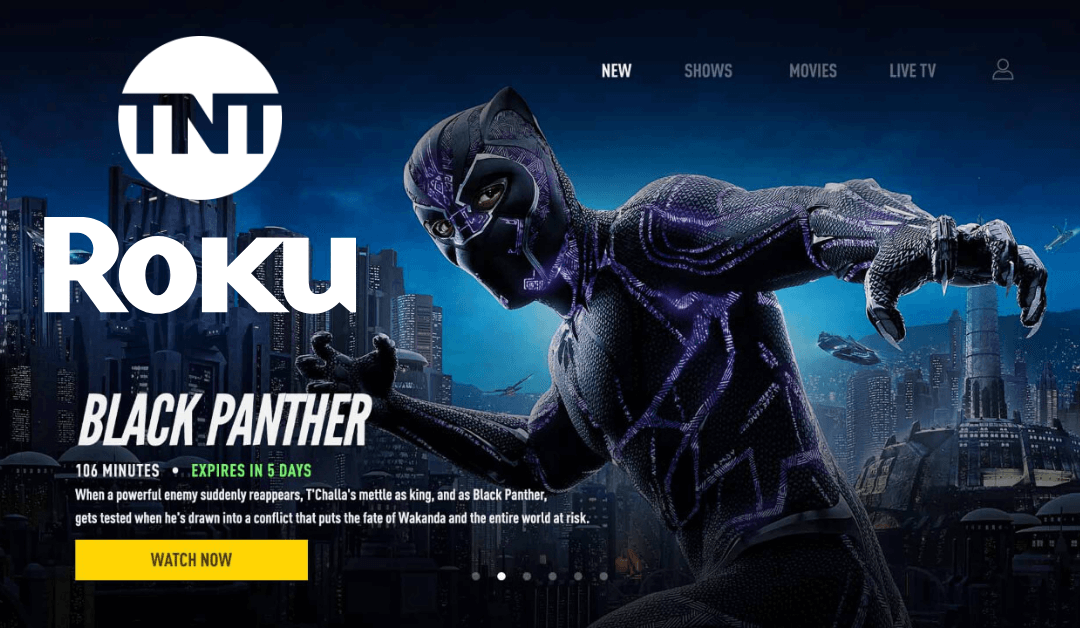 How to Install and Watch TNT on Roku
