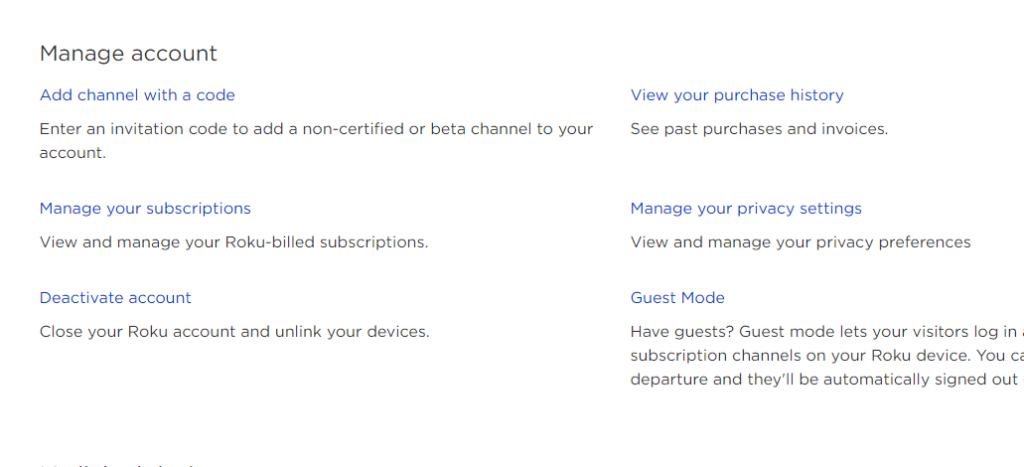 Cancel Subscription on Roku Channel