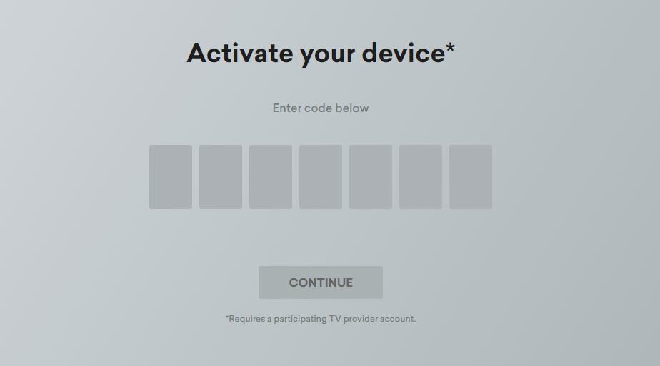 Activate device