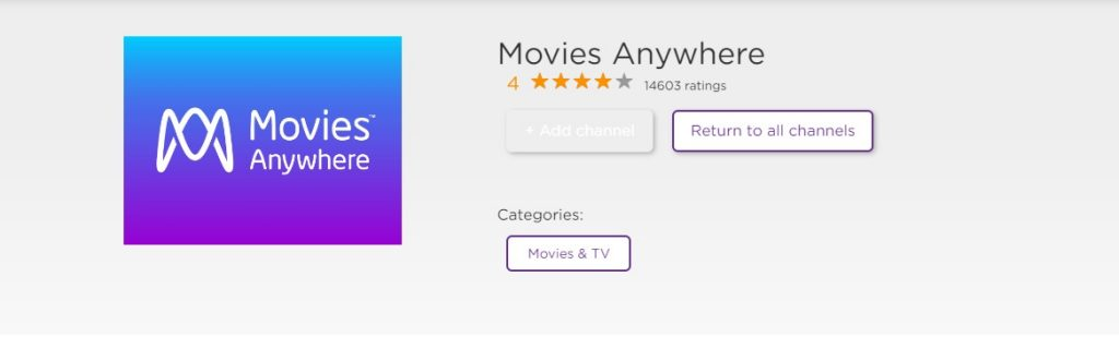 How to Add & Activate Movies Anywhere on Roku