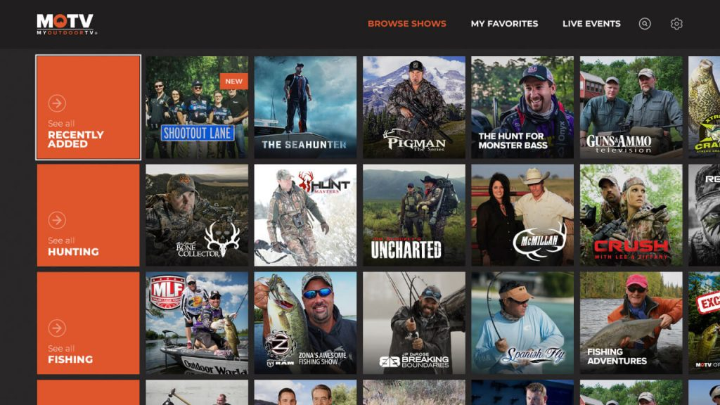Outdoor Channel on Roku
