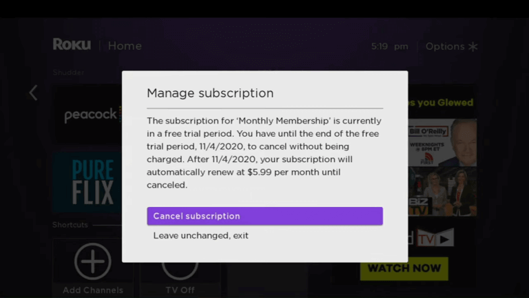 cancel subscription - How to Cancel Spectrum TV subscription on Roku