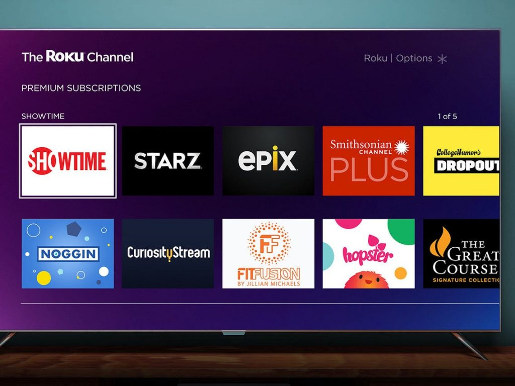 Best Entertainment Channels on Roku