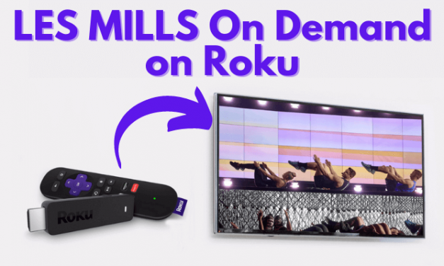 How to Add & Activate LES MILLS On Demand on Roku
