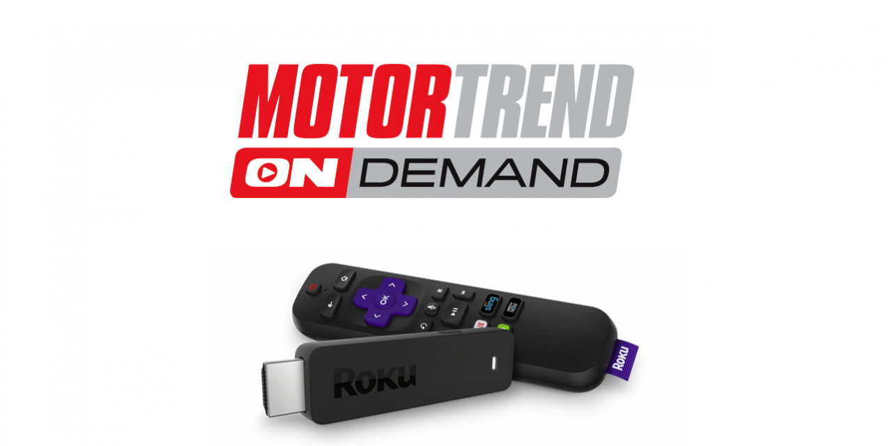 How to Add and Activate Motor Trend OnDemand on Roku