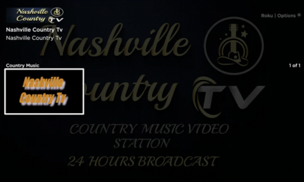 How to Add Nashville Country TV on Roku?