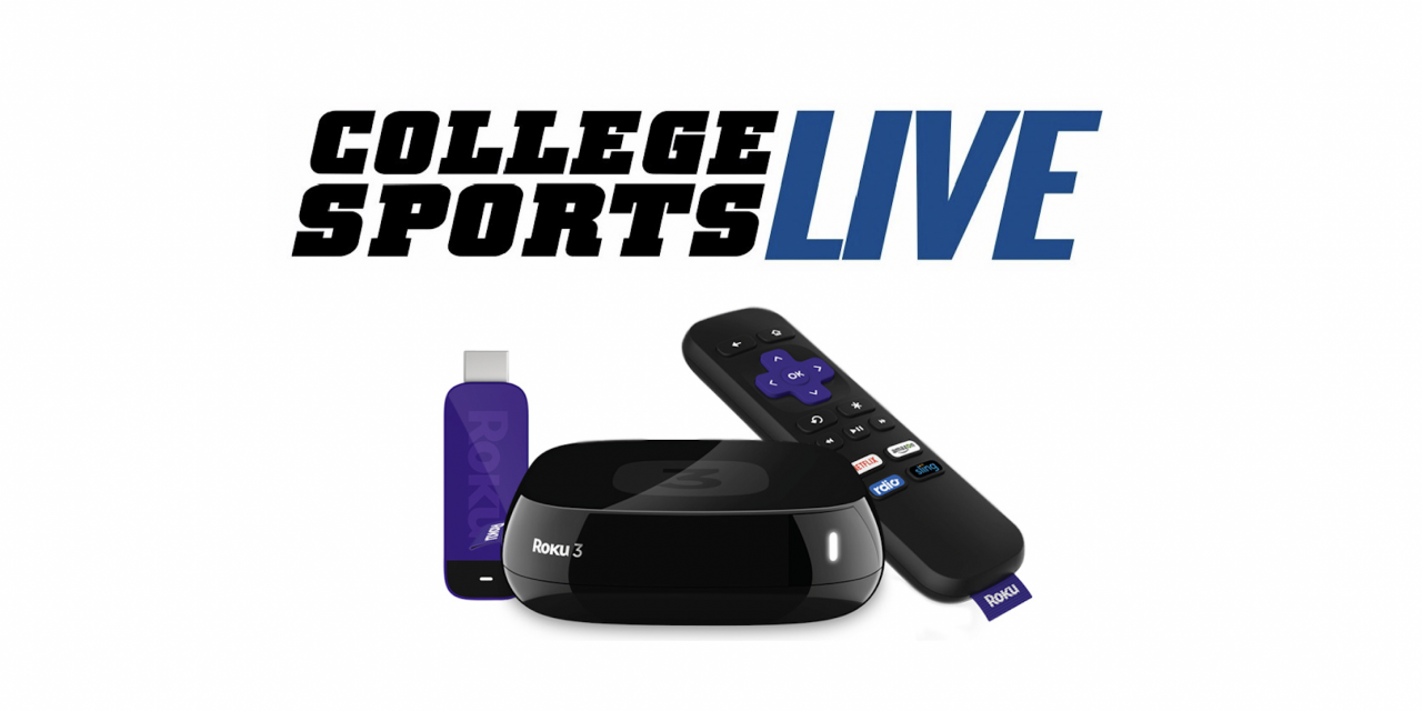 How to Stream College Sports Live on Roku