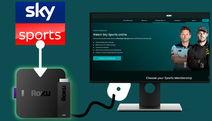 How to Add and Stream Sky Sports on Roku
