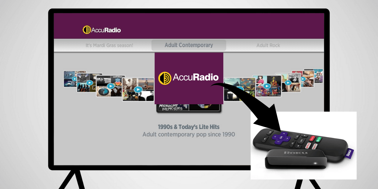 How to Install and Activate AccuRadio on Roku