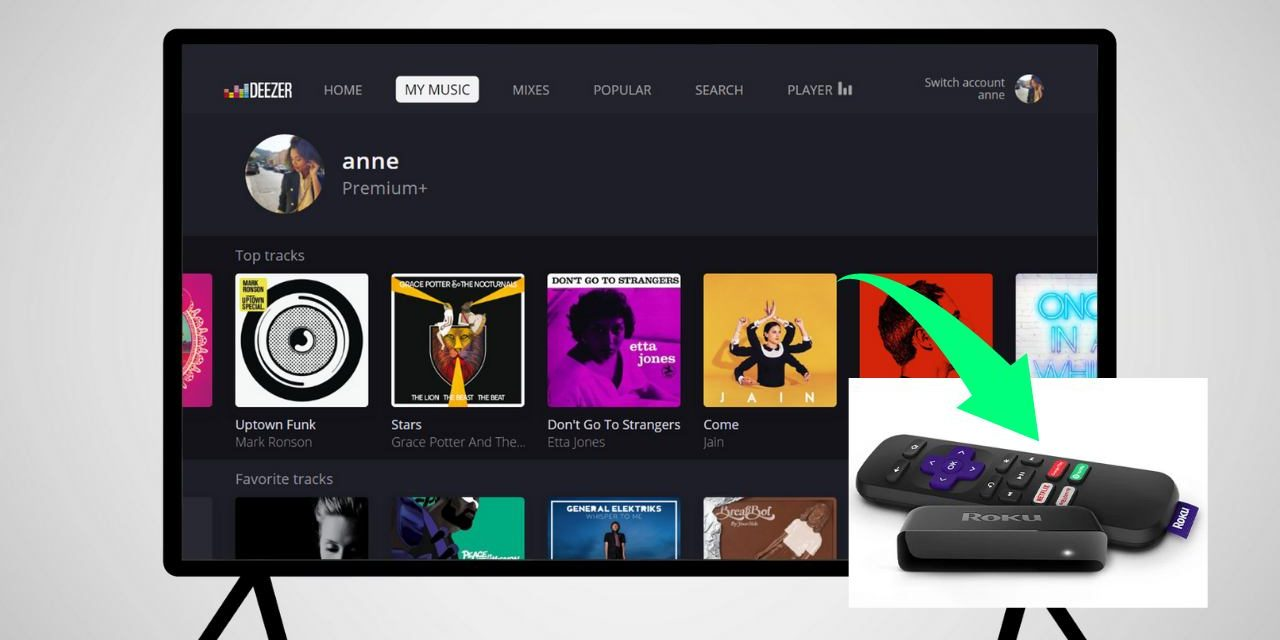 How to Add and Listen To Deezer on Roku