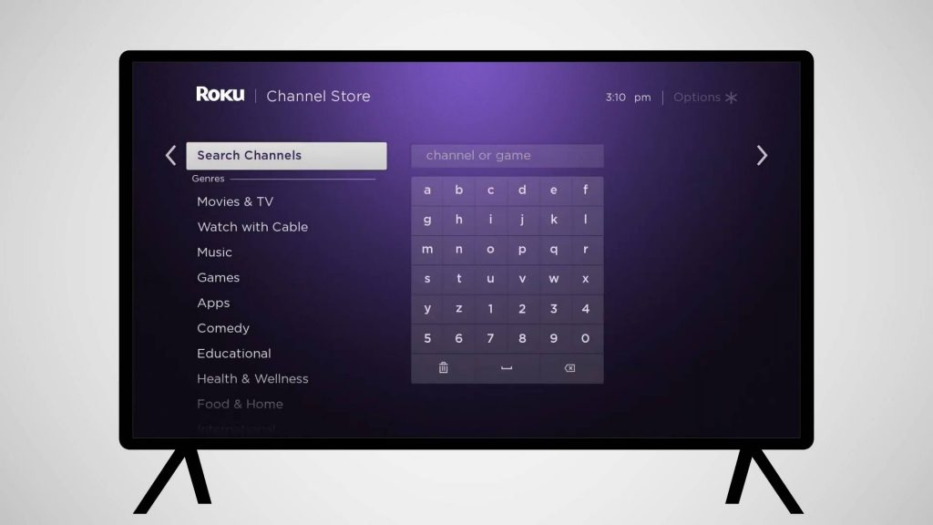 TAP STREAMING CHANNELS